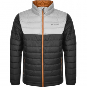 Columbia Powder Lite Padded Logo Jacket Grey