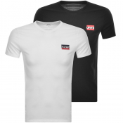 Levis Original Double Pack Crew Neck T Shirt