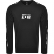 Product Image for Converse All Star Logo Crew Neck Sweatshirt Black
