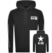 Converse All Star Logo Pullover Hoodie Black
