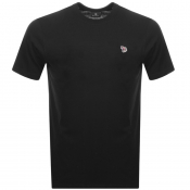 PS By Paul Smith Regular Fit T Shirt Black