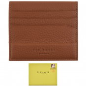Ted Baker Steemer Leather Cardholder Brown