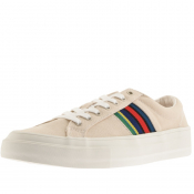 PS By Paul Smith Antilla Suede Trainers Cream