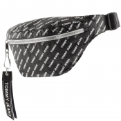 Tommy Jeans Logo Tape Waist Bag Black