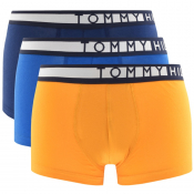 Tommy Hilfiger Underwear 3 Pack Trunks Navy