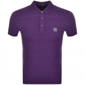 BOSS Casual Passenger Polo T Shirt Purple