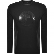 Versace Collection Long Sleeved T Shirt Black