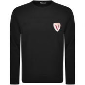 Product Image for Versace Collection Crew Neck Sweatshirt Black