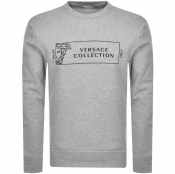 Product Image for Versace Collection Crew Neck Sweatshirt Grey