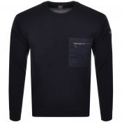 Product Image for Paul And Shark Crew Neck Knit Jumper Navy