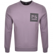 Product Image for PS By Paul Smith Crew Neck Sweatshirt Purple