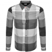 PS By Paul Smith Long Sleeved Check Shirt Grey
