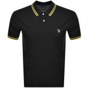 Product Image for PS By Paul Smith Slim Fit Zebra Polo T Shirt Black