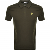 Product Image for Versace Collection Short Sleeved Polo TShirt Green