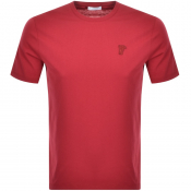Product Image for Versace Collection Medusa Logo T Shirt Red