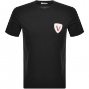 Product Image for Versace Collection Logo T Shirt Black