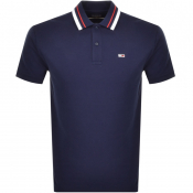 Tommy Jeans Classic Polo T Shirt Navy