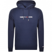 Product Image for Tommy Jeans Logo Hoodie Navy