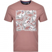 Product Image for Ted Baker Stowart T Shirt Pink