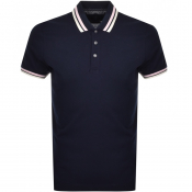 Product Image for Ted Baker Short Sleeved Kazza Polo T Shirt Navy