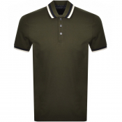 Product Image for Ted Baker Short Sleeved Kazza Polo T Shirt Khaki