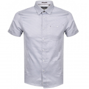 Ted Baker Short Sleeved Donald Shirt Navy
