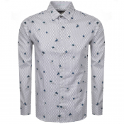 Ted Baker Long Sleeved Richrd Shirt White