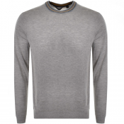 Product Image for Ted Baker Mailais Crew Neck Knit Jumper Grey