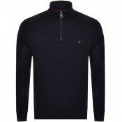 Product Image for Ted Baker Muggie Half Zip Knitted Jumper Navy