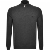 Product Image for Ted Baker Muggie Half Zip Knitted Jumper Grey