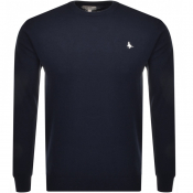 Jack Wills Seabourne Knit Jumper Navy