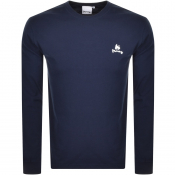 Product Image for Money Long Sleeved Crew Neck T Shirt Navy
