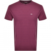 Product Image for Tommy Jeans Washed T Shirt Burgundy