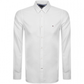 Product Image for Tommy Hilfiger Long Sleeved Slim Shirt White