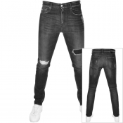 Product Image for Calvin Klein Jeans Slim Taper Jeans Grey