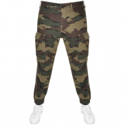 Product Image for Levis Camouflage Tapered Cargo Trousers Khaki