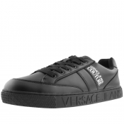 Product Image for Versace Jeans Couture Cassetta Logo Trainers Black