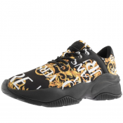 Product Image for Versace Jeans Couture Extreme Logo Trainers Black