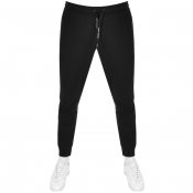 Armani Exchange Logo Jogging Bottoms Black