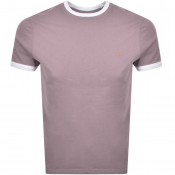 Product Image for Farah Vintage Groves Ringer T Shirt Purple