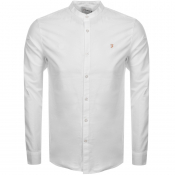 Product Image for Farah Vintage Brewster Grandad Shirt White