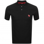 PS By Paul Smith Regular Polo T Shirt Black