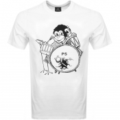 Product Image for PS By Paul Smith Monkey T Shirt White