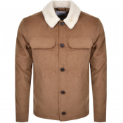 Farah Vintage Kingsland Corduroy Jacket Brown