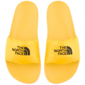 The North Face Nuptse Sliders Yellow