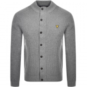 Product Image for Lyle And Scott Full Button Knit Jumper Blue