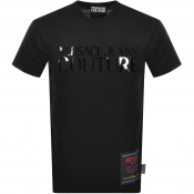 Product Image for Versace Jeans Couture Logo T Shirt Black