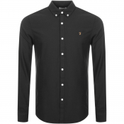Farah Vintage Brewer Shirt Black