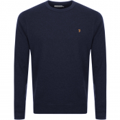 Product Image for Farah Vintage Tim Sweatshirt Navy
