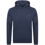 Product Image for Farah Vintage Clerkenwell Hoodie Blue